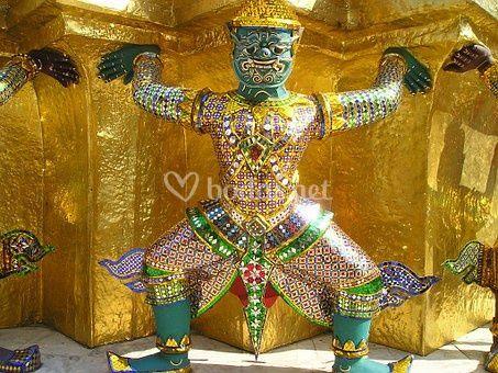 Tailandia guerreros