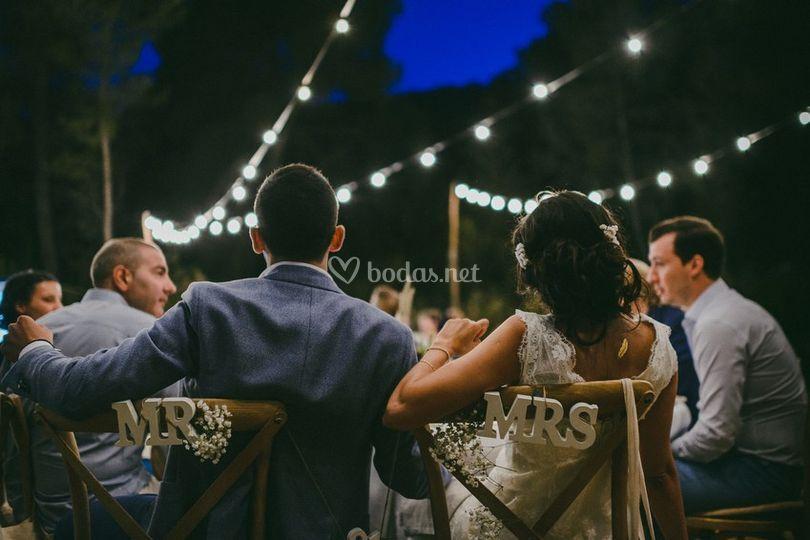 Detalles de boda de Sa Brisa