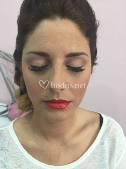 Maquillaje invitada boda