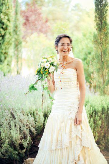 Una novia preciosa