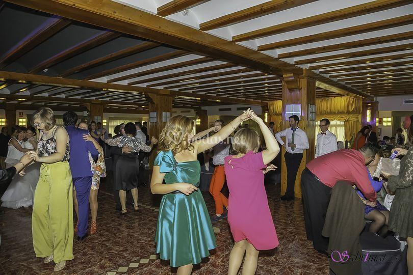 Fiesta boda Salones Canor