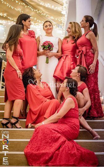 Las damas de honor