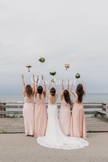 El cortejo de la novia