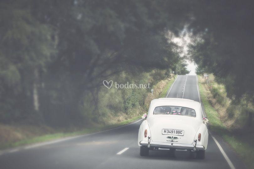 El coche de la novia