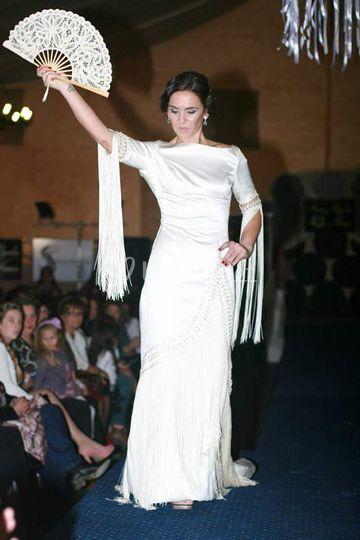 Novia flamenca