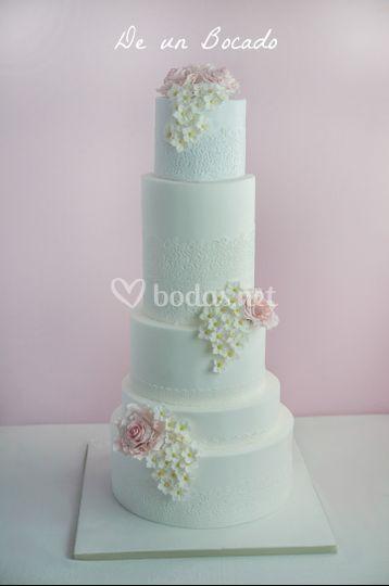 Sky cake para Piedad