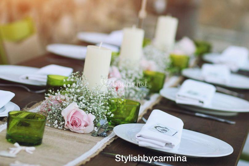 Banquetes al exterior