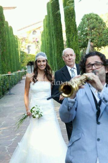 Acompañando la novia