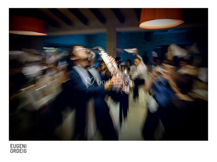 Actuación en el banquete