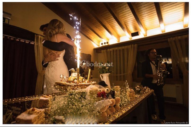 Banquete / Llegada tarta