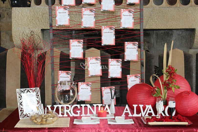 Virginia y Álvaro