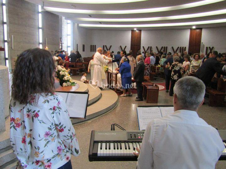 Ceremonia religiosa Laura&Lore