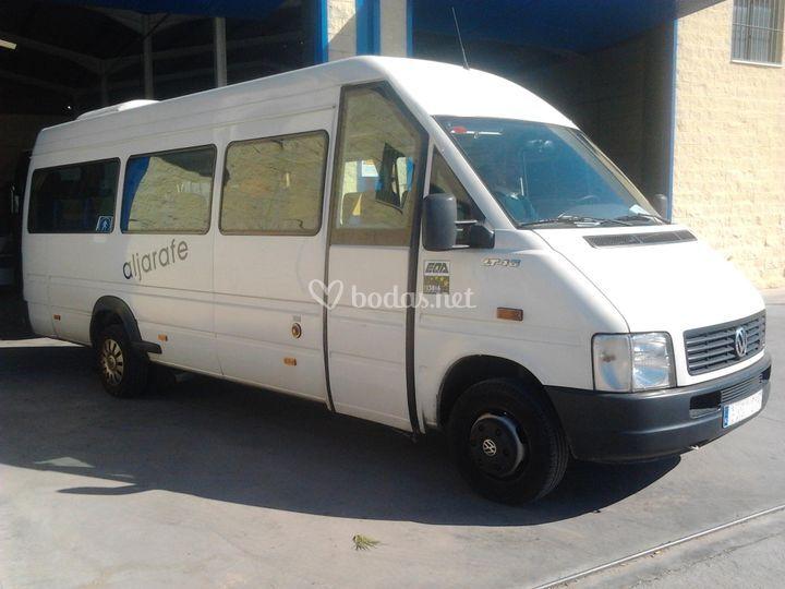 Microbús de 22 plazas