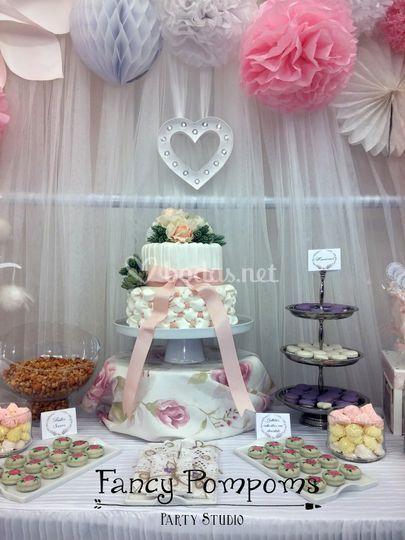 Tarta y dulces personalizados
