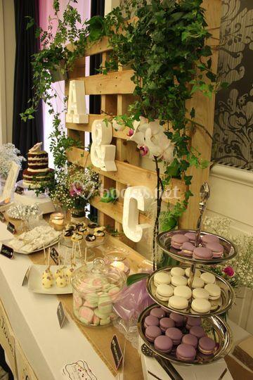 Sweet table de boda