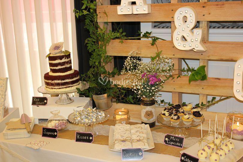 Reposteria creativa de boda