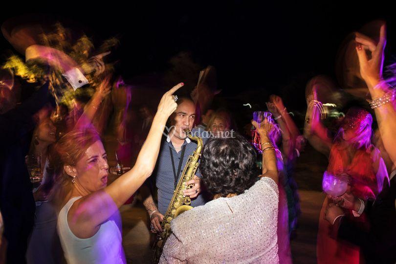 Fiesta y jazz