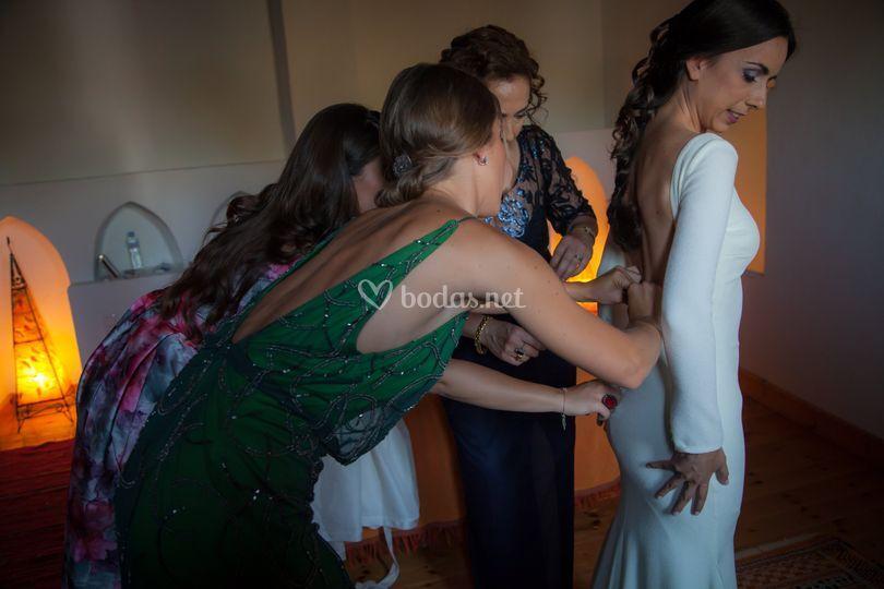 Prepanado la novia