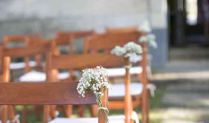 Sillas ceremonia civil