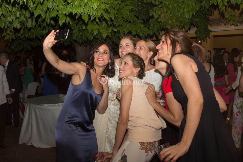 Selfie de las amigas