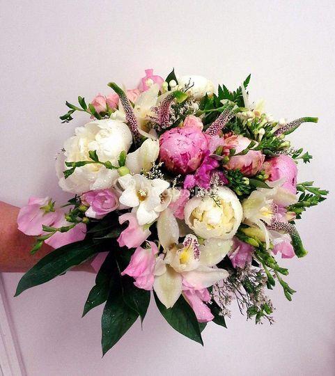 Bouquet de flor variada