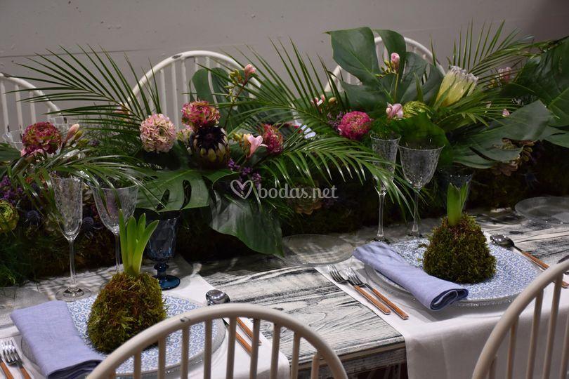 Decoración Floral Mesas