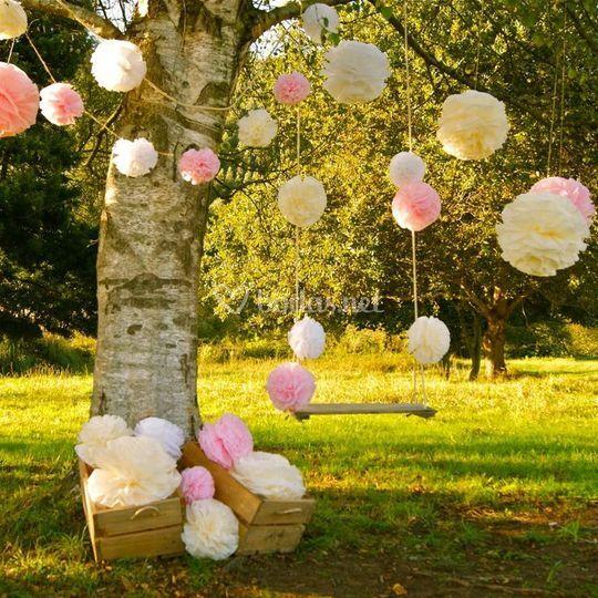 decoración jardín de crazy wedding | foto 9