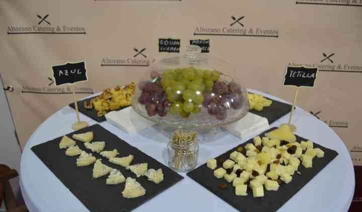 Mini buffet de quesos