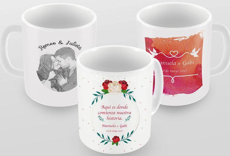 Tazas para bodas