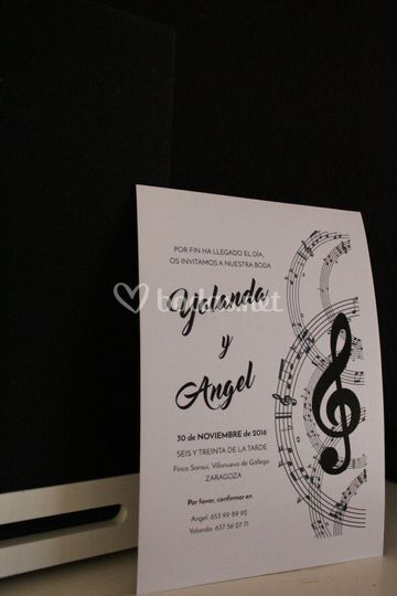 Invitación musical