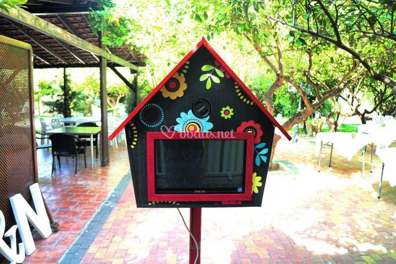 Fotomatón Casa Pajaro