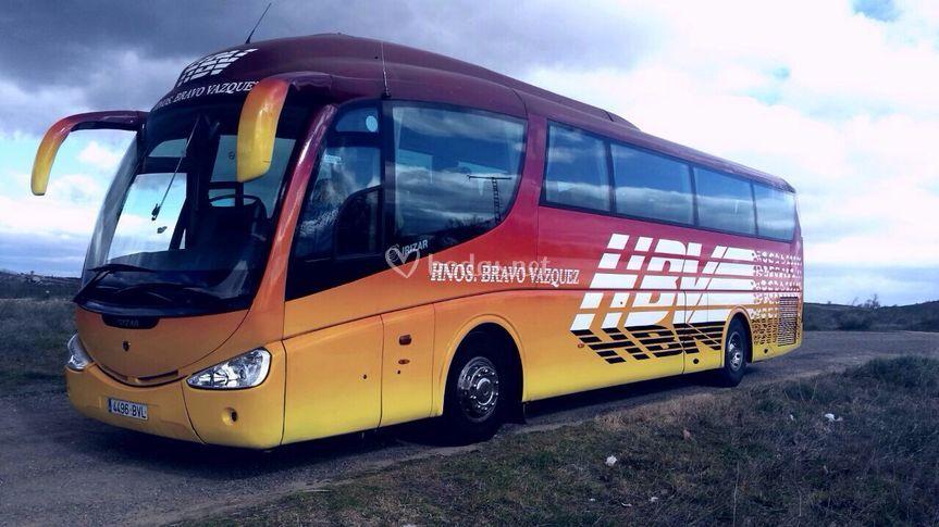 Autobús de 54 plazas