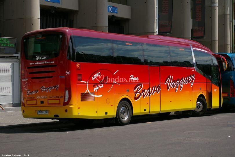 Autocar de 54 pax