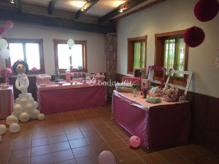 Sala para los regalos