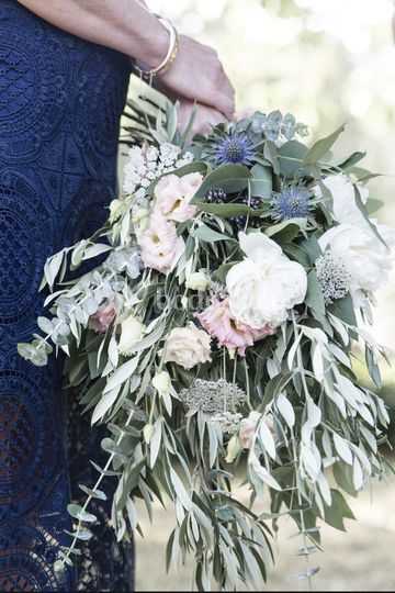 Ramo de novia estilo campestre