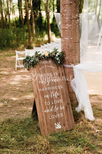 Deco boda estilo country chic