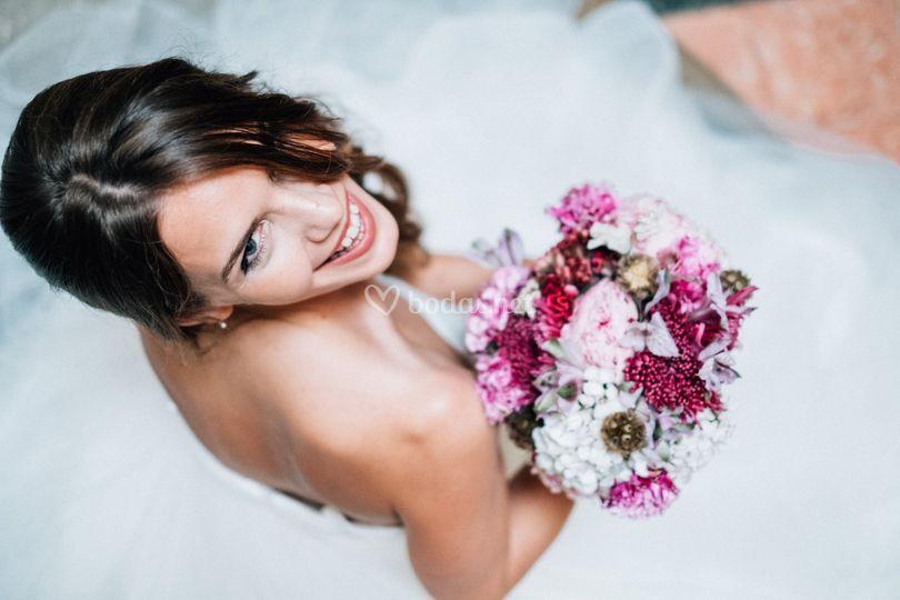 Ramo de novia estilo elegante