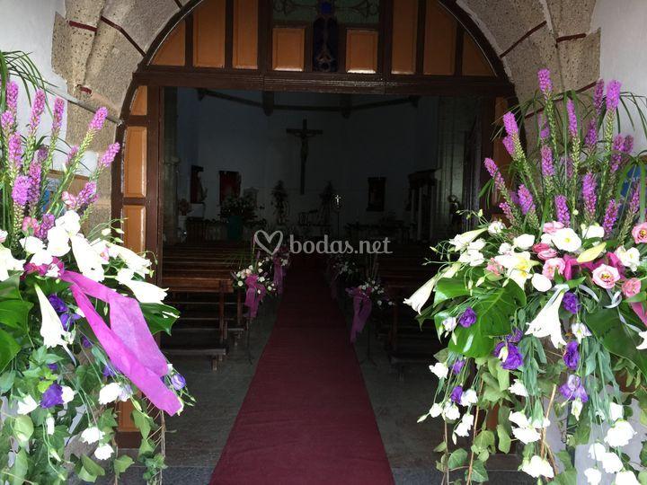 Centros de entrada a la iglesias
