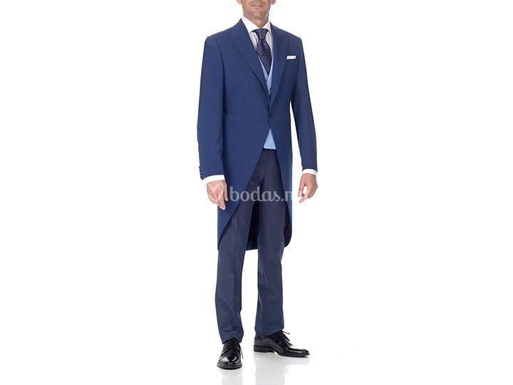 Alquiler Chaqué azul Sgz