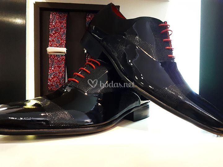 Zapato de charol fantasía