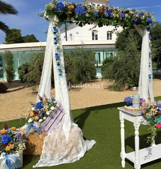 Arte armon a - Decoracion bodas civiles ...