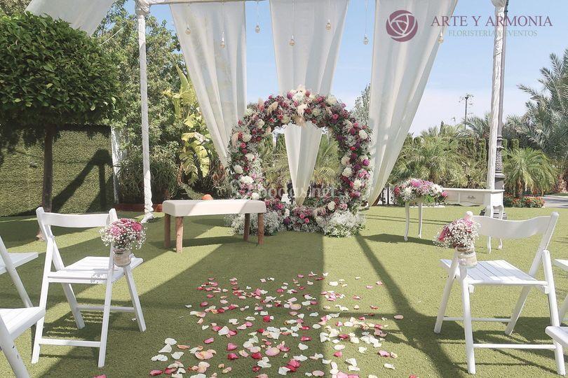 Anillo floral
