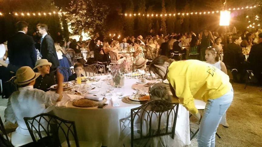 Ayuda en el banquete