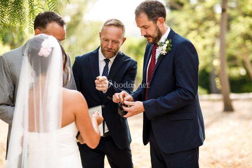 """""""Nos encantó la ceremonia"""""""