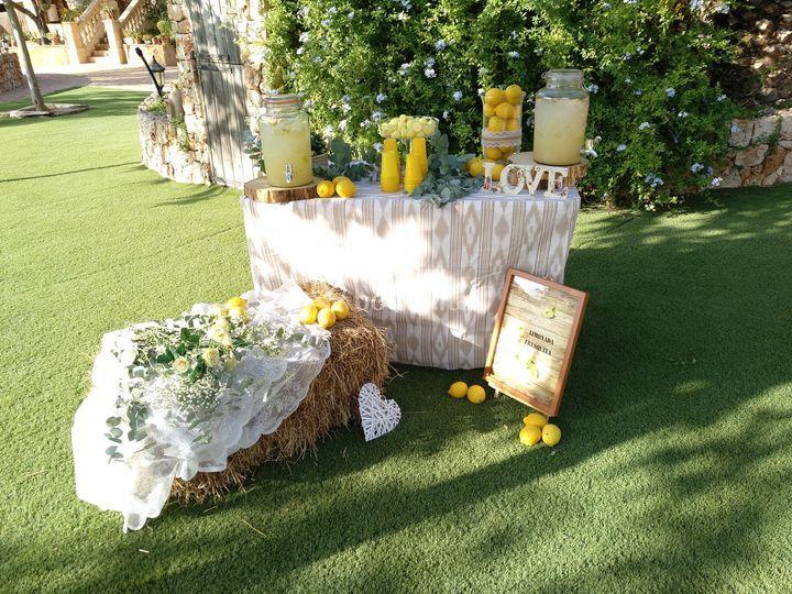 Carrito de limonada