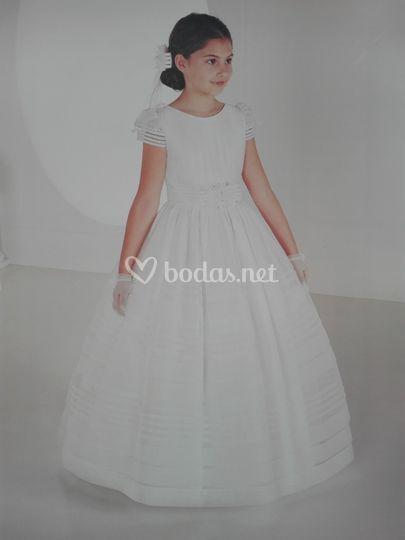 vestido de comunión de gina domínguez   foto 19