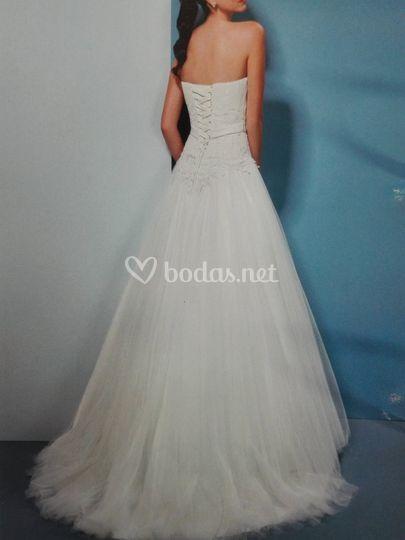 vestido de novia de gina domínguez   foto 21