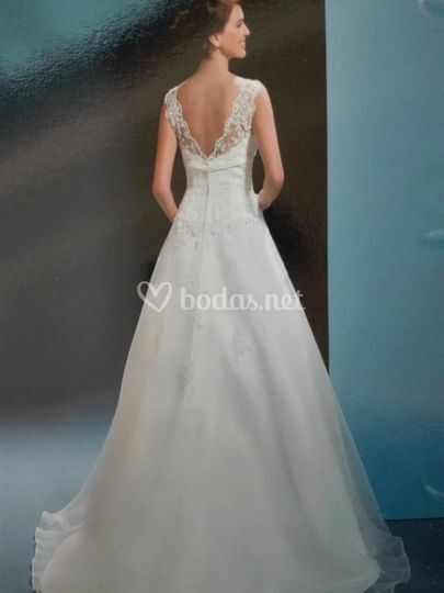 vestido de novia de gina domínguez   foto 23