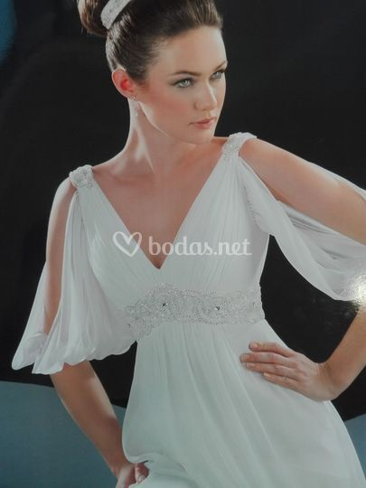 vestido de novia de gina domínguez   foto 24