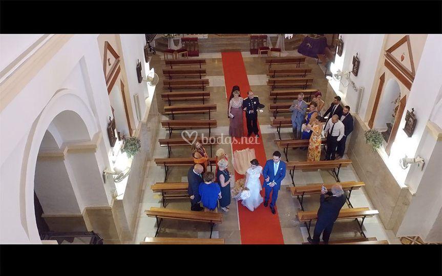 Salida de la iglesia